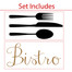 Utensil Wall Decal