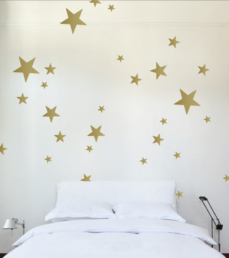 Superbe Stars Wall Decal