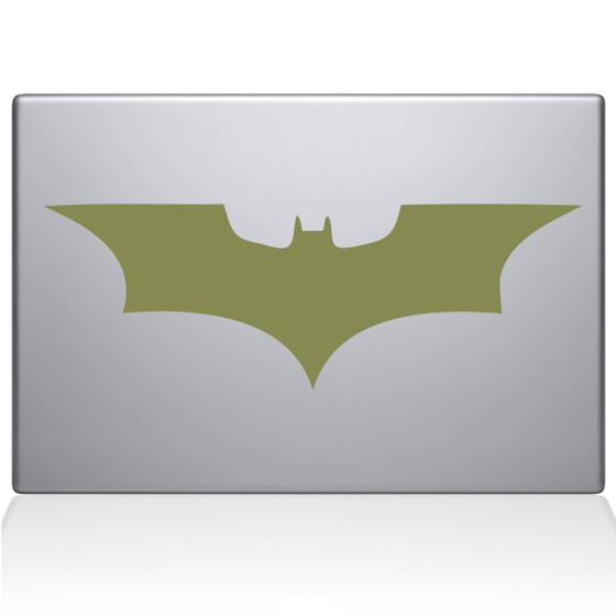 Batman Symbol Macbook Decal Sticker Black