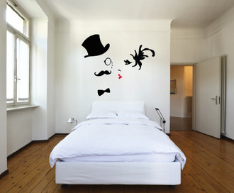 Roaring Twenties Style Wall Decal