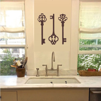 Skeleton Keys Wall Decal