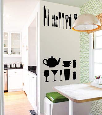 Kitchen Stuff Wall Decal