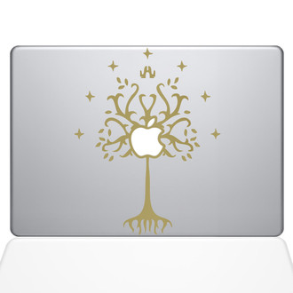 Tree of Gondor Lord of the Rings macbook Decal Sticker
