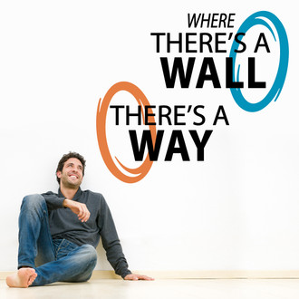 Portal 3 Wall Decal