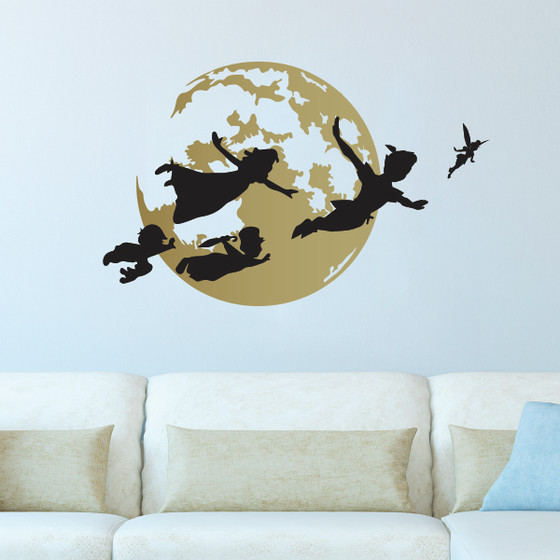 Peter Pan Happy Thoughts Wall Decal - The Decal Guru