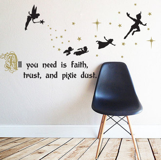 Peter Pan Pixie Dust Wall Decal
