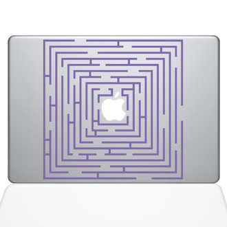 Maze Runner Macbook Decal Sticker Purple