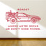 back to the future Wall Decal
