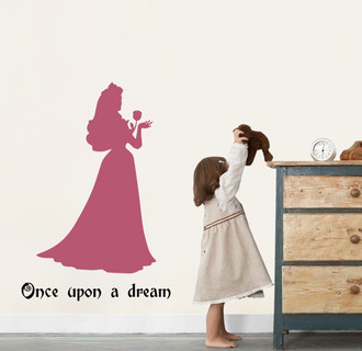 Sleeping Beauty Wall Decal