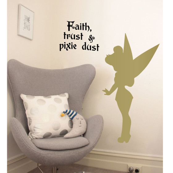 ... Tinker Bell Wall Decal. Image 1