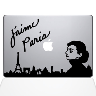 Audrey Hepburn Macbook Decal