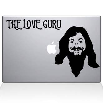 The Love Guru Macbook Decal Sticker Black