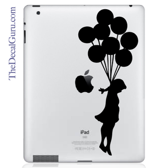 Balloon Suicide iPad Decal