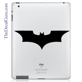 Batman Symbol iPad Decal