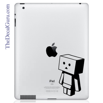 Blockster iPad Decal