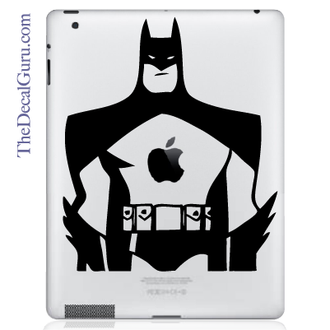 Cartoon Batman iPad Decal