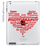 Contemporary Culture Heart iPad Decal