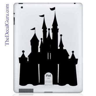 Disney Castle iPad Decal