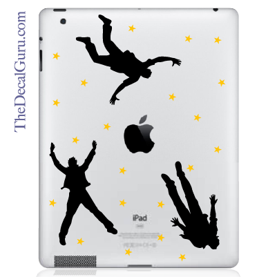 Falling Men iPad Decal