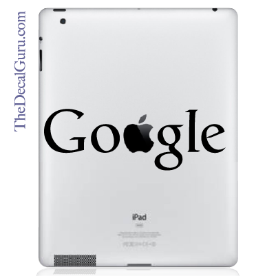 Google iPad Decal