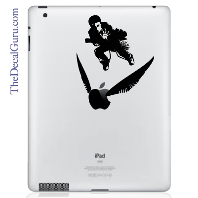 Harry Potter Quidditch iPad Decal sticker