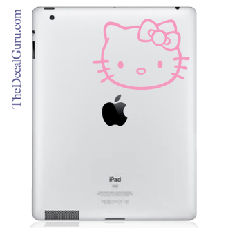 Hello Kitty iPad Decal