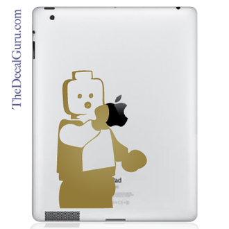 Lego Man iPad Decal