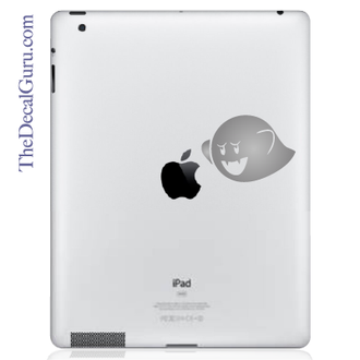 Mario Bros Ghost iPad Decal