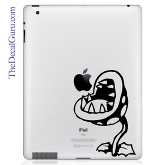 Mario Piranha iPad Decal