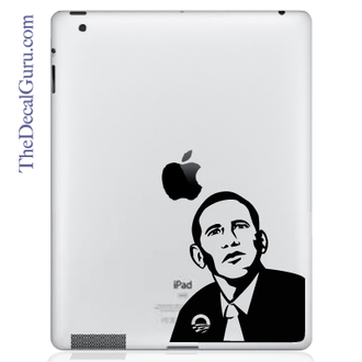 President Barack Obama iPad Decal