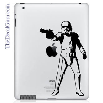 Storm Trooper iPad Decal sticker