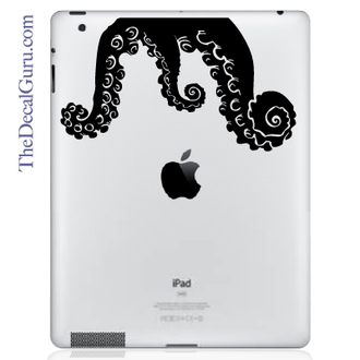 Tentacle Monster iPad Decal sticker