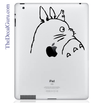 Totoro iPad Decal sticker