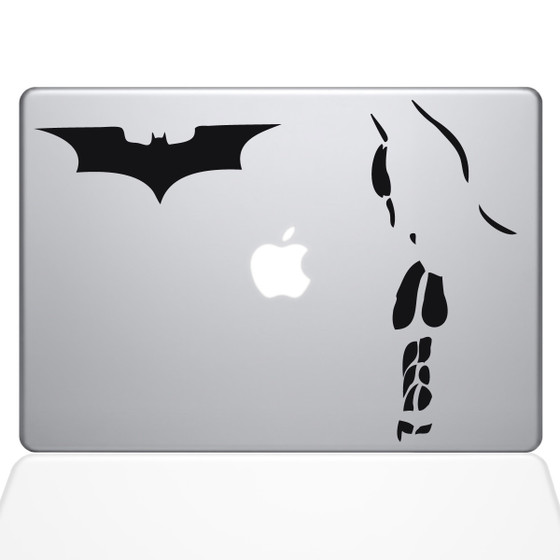 Batman Macbook Decal Sticker Black