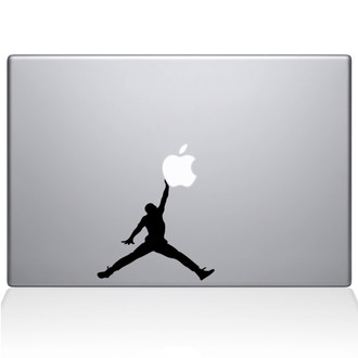 Air Jordan Macbook Decal Sticker Black