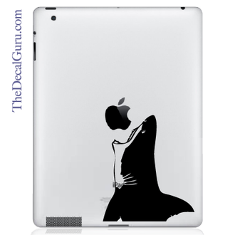 Jaws Shark iPad Decal sticker