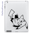 Pikachu Pokemon iPad Decal sticker