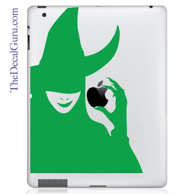 Wicked Witch iPad Decal