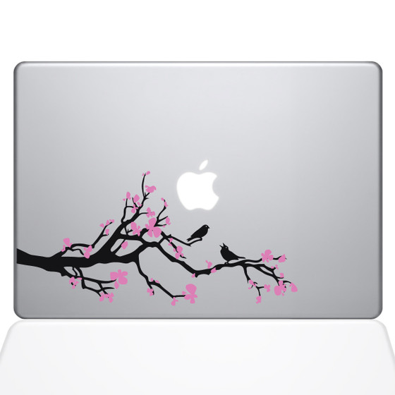 Cherry Blossom Branch Macbook Decal Sticker