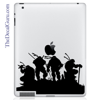 Ninja Turtles iPad decal sticker