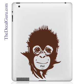 Save the Baby Monkey iPad Decal