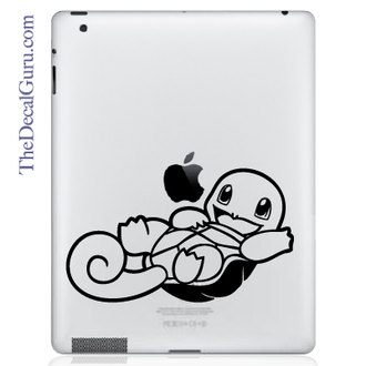 Squirtle Pokemon iPad Decal sticker