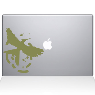 Hunger Games Logo Macbook Decal Sticker Black