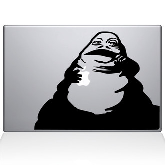 Jabba the Hut Macbook Decal Sticker Black