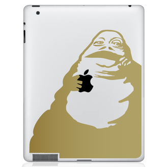 Jabba the Hut ipad decal sticker