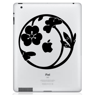 Nature Circle iPad Decal Sticker