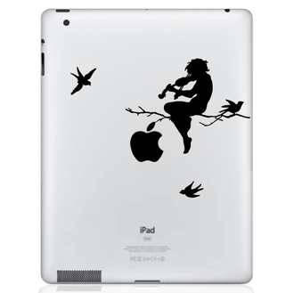 Moonlight Melodies iPad Decal Sticker