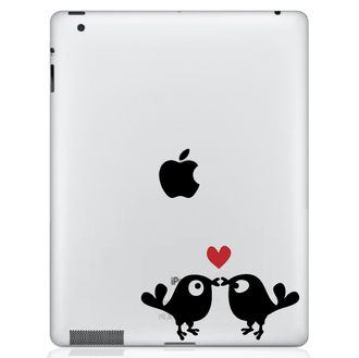 Kissing Birds iPad Decal
