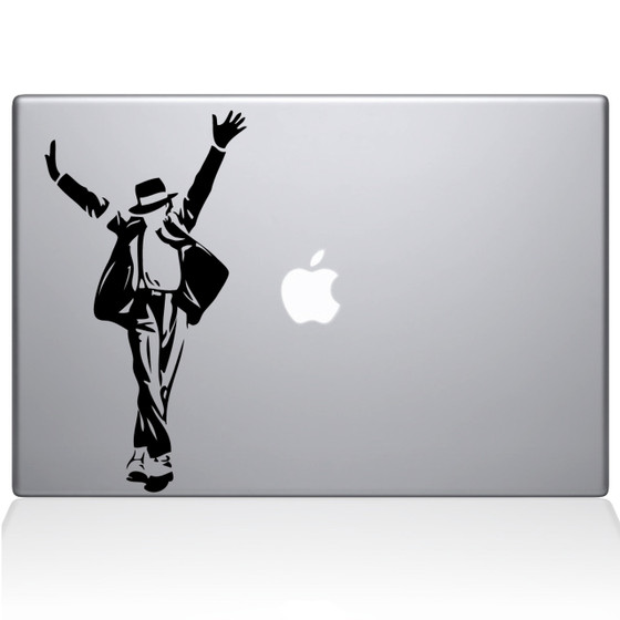 Michael Jackson Macbook Decal Sticker Black