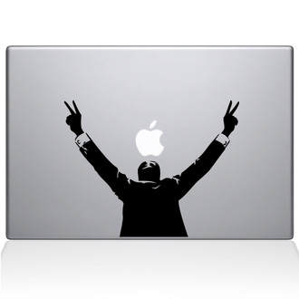 President Nixon Macbook Decal Sticker Black